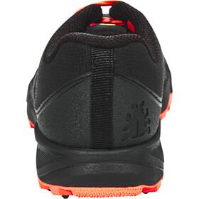 Icebug W's Pytho4 BUGrip Shoes Black/NeonPeach
